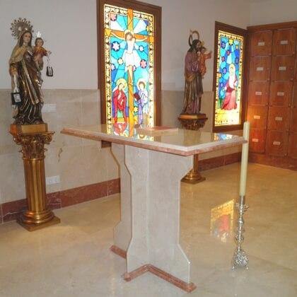 Columbarios Iglesia La Encarnación Priemarsol